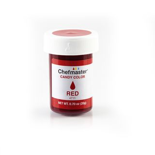 CHEFMASTER CANDY COLOR RED .7OZ