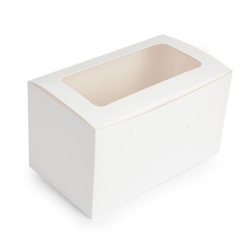 MONDO CUPCAKE BOX - 2 CUP