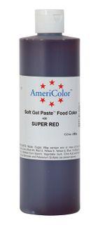 AMERICOLOR GEL PASTE SUPER RED 13.5OZ