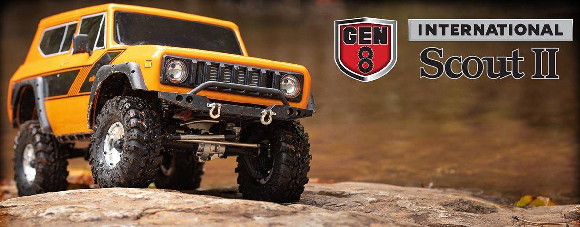 REDCAT RCATGEN8AXE 1:10th EP Truck Gen8 AXE 2.4Ghz Portal