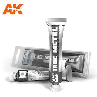 AK Interactive Wax True Metal Silver