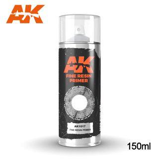 AK Interactive Sprays Fine Resin Primer- Spray 150ml
