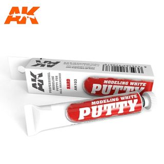 AK Interactive Modeling White Putty 20ml