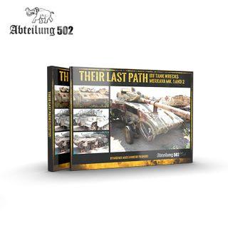 AK Interactive Book Their Last Path IdfTank Wrecks Merkava Mk 1 And 2