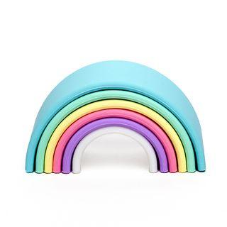 Dena Toys Pastel Rainbow 6pc