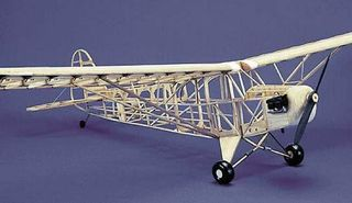 Herr Piper J3 Cub 902mm EP or RC or Rubber