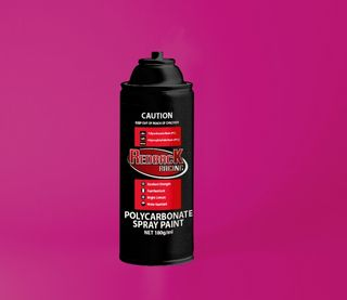 PAINT, P.CARB,TRANS. RED, 180ML SPRY