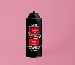 PAINT, P.CARB,TRANS. PINK, 180ML SPRY