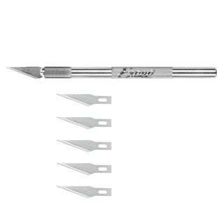 Excel Blades, K1 Knife with Safety Cap and 5# 20011 Blades
