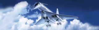 ICM 1:144 Tupolev-144 Svt. Psngr Aircraft