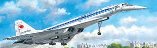 ICM 1:144 Tupolev-144D Svt. Psngr Aircraft