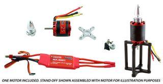 Redback 25 B/Less Motor Pkg. Inc. 40A Esc
