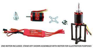 Redback 40 B/Less Motor Pkg. Inc. 60A Esc