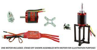 Redback 91 B/Less Motor Pkg. Inc 85A Esc