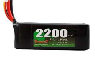 Redback Batt 11.1V Lipo 2200Mah 30C Fl Green