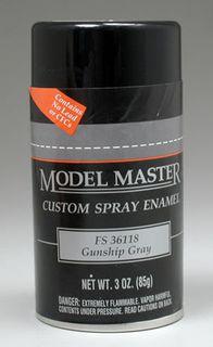 Model Master Gunship Gray(Fs36118) Enamel 85Gm Spray