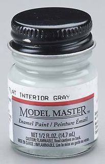 Model Master (F) Interior Gray Enamel 14.7Ml