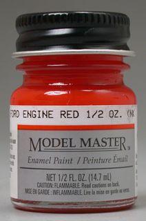 Model Master Ford Engine Red Enamel 14.7Ml