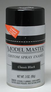 CLASSIC BLACK Enamel 85gm SPRAY
