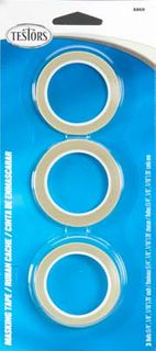 Testors Masking Tape - 3 Pack - 1/16 1/8  1/4