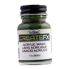ACR WASH OLIVE GREEN 30ml*
