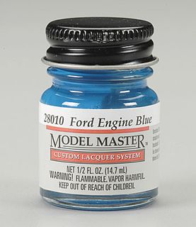 Model Master Lacquer Ford & Gm Eng Blue14.7Ml