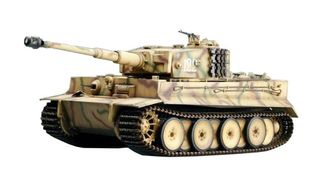 Trumpeter Tank Tiger 1 Battle Game Desert Yello