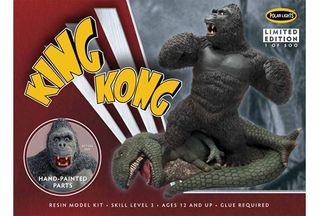 1:72 King Kong Resin Painted*D