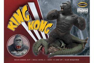 Polar Lights 1:72 King Kong Resin Painted*D