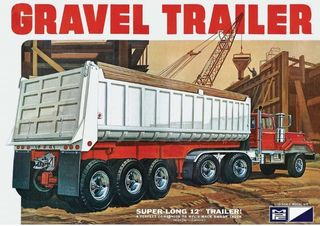MPC 1:25 3 Axle Gravel Trailer