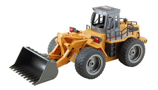 Huina 1:18 Front End Loader 6Ch Metal Bucket