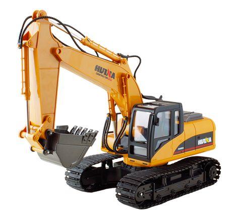 Huina 1:14 Excavator 15 Ch Metal & Abs