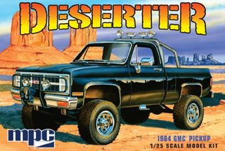 MPC 1:25 1984 Gmc Pickup (Black)