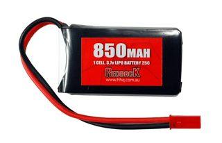 Redback Battery 3.7V Lipo 850Mah 25CFlight