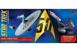 1:350 Star Trek TOS USS Enterprise Parts