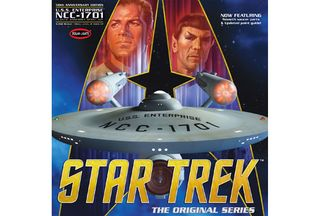 Polar Lights 1:350 Star Trek Tos Enterise