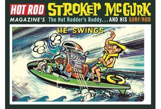 MPC 1:6+ Stroker Mcgurk Surf Rod Car *D