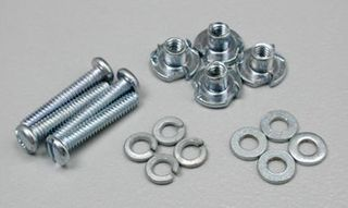 BOLTS AND BLIND NUTS 2-56 X 12MM. (4)