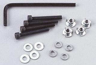 Dubro Socket & Bolts Sets 6-32 X 25Mm. (4)