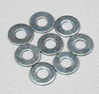 Dubro No. 4 Flat Washers