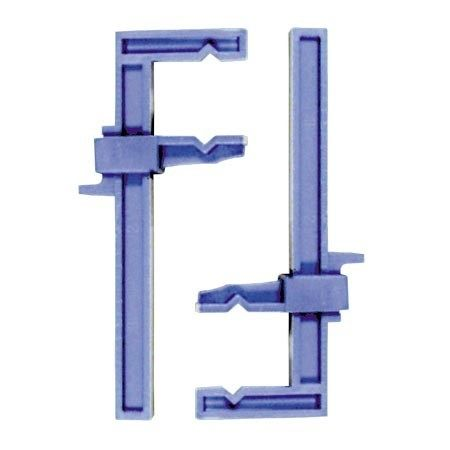 2PC CLAMPS, PLASTIC SLIDE SMALL