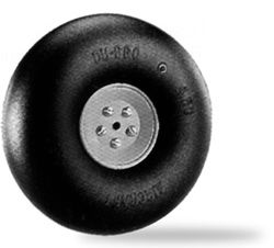 Dubro Big Wheel Smooth/Pneumatic 4.5 InPk2