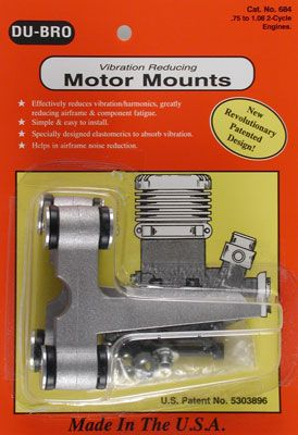 Dubro Motor Mount .75-1.08 2 Cycle*