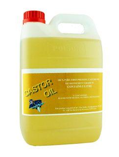 Castor Oil-1St Pressing Castor BP 93 5 Litres +