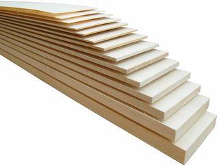 Balsawood Balsa Sheet 915X100X06.5Mm