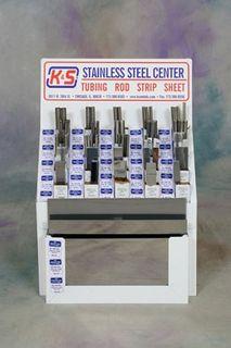 KS Metals K&S Stainless Steel Display 12