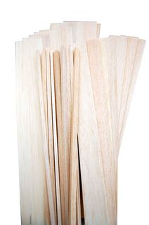 Balsawood Balsa Pack Sheet & Sticks Asstd. 450Mm