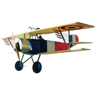 Balsa Usa 1/4 Nieuport 11 Kit 1855Mm Ws3 Way Pwr