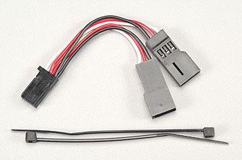 Servo connector, Y adapter (for dual-ser