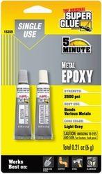 Zap 5 Minute Metal Quick Set Epoxy S/Use6G*